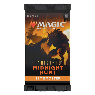 TCG Magic The Gathering Innistrad Midnight Hunt Set Booster Pack MAGIC THE GATHERING