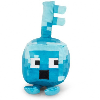 Foto van Minecraft: Happy Explorer - Diamond Key Golem Plush PLUCHES