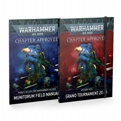 Chapter Approved: Grand Tournament 2020 Mission Pack and Munitorum Field Manual WARHAMMER 40K