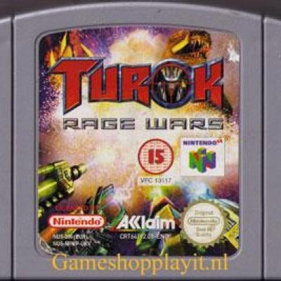 Foto van Turok Rage Wars (Losse Cassette) N64