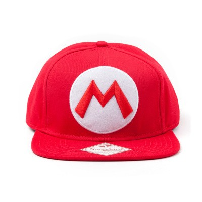 Nintendo Mario Logo Snapback MERCHANDISE