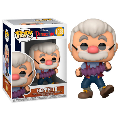 Foto van Pop! Disney: Pinocchio - Geppetto with Accordion FUNKO