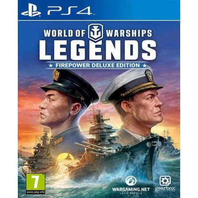World of Warships: Legends - Firepower Deluxe Edition PS4