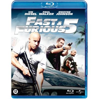 Foto van Fast & Furious 5 BLU-RAY