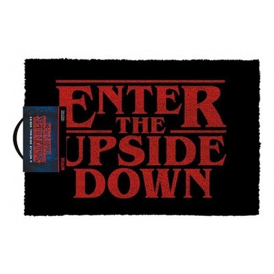 Stranger Things: Enter the Upside Down Door Mat MERCHANDISE