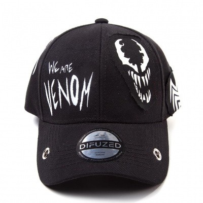 Marvel - Venom Grunge Cap With Patches