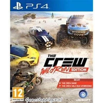 Foto van The Crew Wild Run Edition PS4