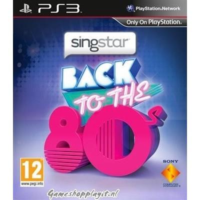 Foto van Singstar Return To The 80'S PS3