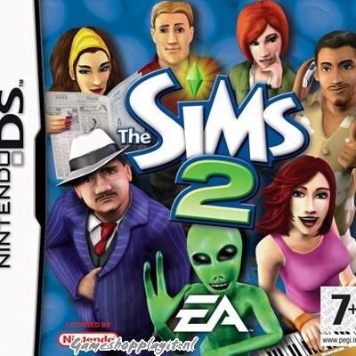 Foto van De Sims 2 NDS