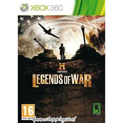 History Legends Of War XBOX 360