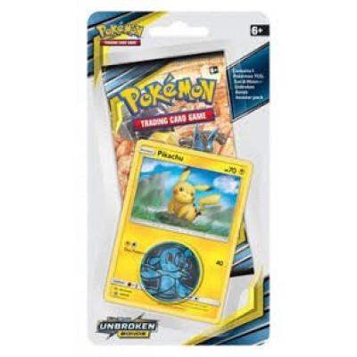 TCG Checklane Booster Pokemon Sun & Moon Unbroken Bonds - Pikachu POKEMON