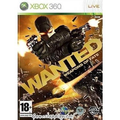 Wanted Weapons Of Fate XBOX 360