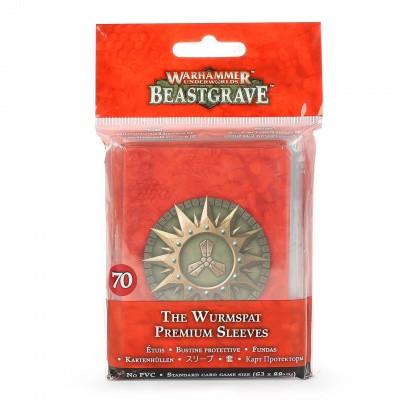 Warhammer Underworlds: Beastgrave - The Wurmspat Premium Sleeves WARHAMMER UNDERWORLDS