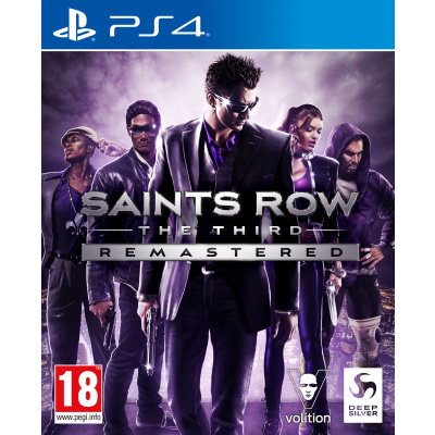 Foto van Saints Row: The Third Remastered PS4