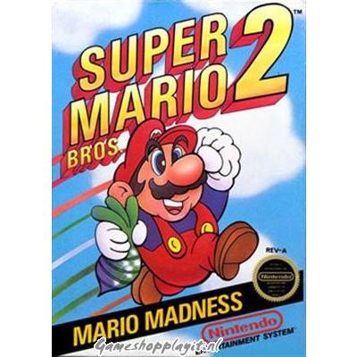 Foto van Super Mario Bros. 2 NES