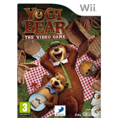 Yogi Bear The Video Game WII