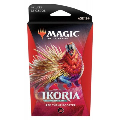 TCG Magic The Gathering Ikoria Lair Of Behemoths Red Theme Booster MAGIC THE GATHERING