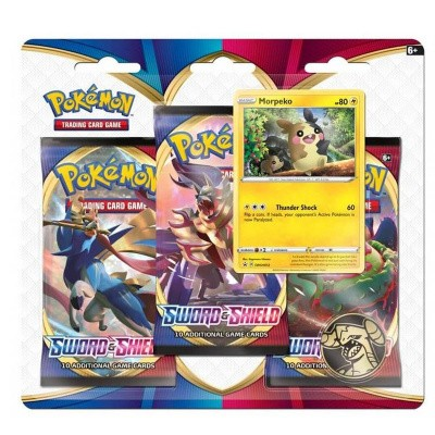 TCG Pokémon Sword & Shield Booster Packs - Morpeko POKEMON