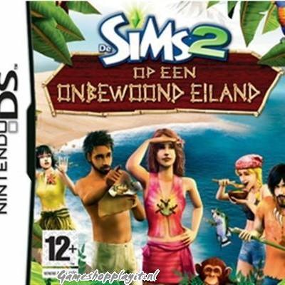 De Sims 2 Op Een Onbewoond Eiland NDS