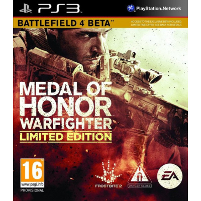 Foto van Medal Of Honor Warfighter (Limited Edition) PS3