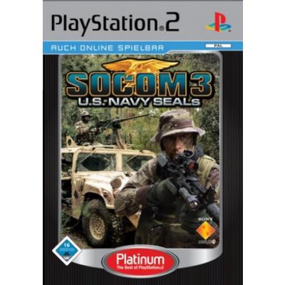 Foto van Socom 3: U.S. Navy Seals (Platinum) PS2