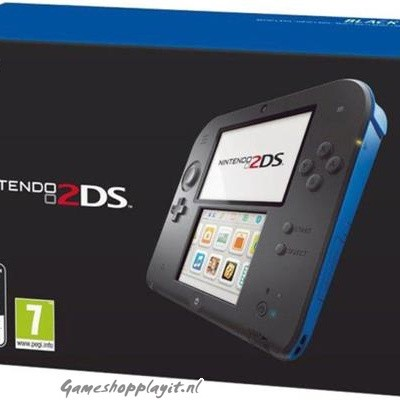 Console 2Ds Black + Blue 3DS