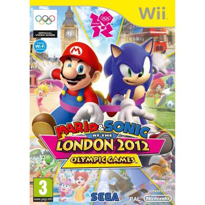 Mario & Sonic op de Olympische Spelen Londen 2012 WII