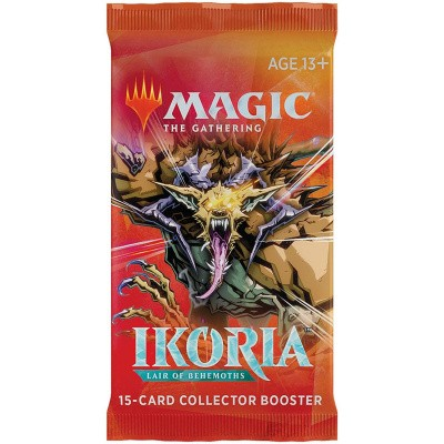 Foto van TCG Magic The Gathering Ikoria Lair Of Behemoths Collector Booster Pack MAGIC THE GATHERING