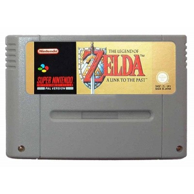 Foto van The Legend Of Zelda A Link To The Past (Losse Cassette) SNES