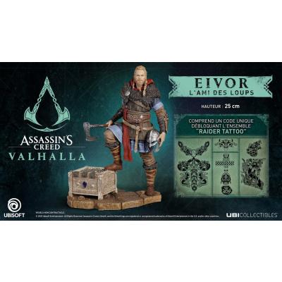 Assassin's Creed Valhalla - Eivor The Wolf Kissed Male Figurine MERCHANDISE
