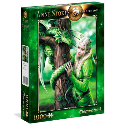 Anne Stokes Kindred Spirit Puzzle 1000pc PUZZEL