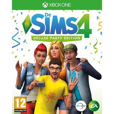 Foto van The Sims 4 Deluxe Party Edition Xbox One