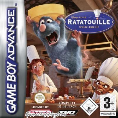 Foto van Ratatouille GBA