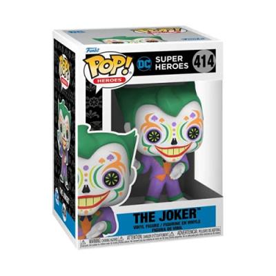 Pop! Heroes: DC Super Heroes - The Joker Quinn Dia de los Muertos FUNKO