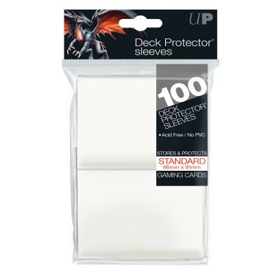 TCG Sleeves Ultra Pro - White (100 stuks) (Standard Size) TRADINGCARDS ACC