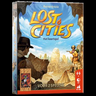 Foto van Lost Cities: Het Kaartspel BORDSPELLEN