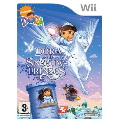 Dora Redt De Sneeuwprinses WII