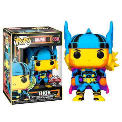 Pop! Marvel: Black Light Thor Funko