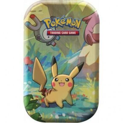 Foto van Tcg Kanto Friends Mini Tin - Pikachu Pokemon Trading Card Game POKEMON