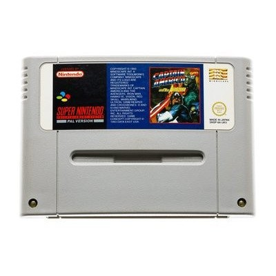 Foto van Captain America And the Avengers (losse cartridge) SNES