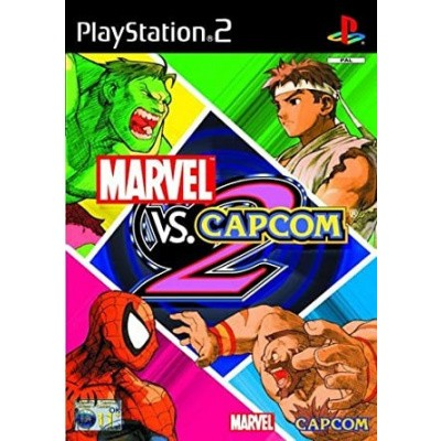 Foto van Marvel VS. Capcom 2 (kleine waterschade cover) PS2