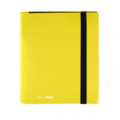 TCG Pro-Binder Eclipse 4-Pocket - Lemon Yellow BINDER