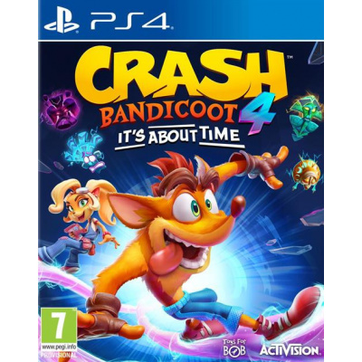 Foto van Crash Bandicoot 4: It's About Time PS4