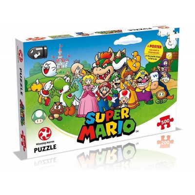Super Mario Puzzle 500pc PUZZEL