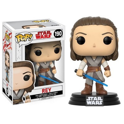 Pop! Star Wars: E8 - Rey FUNKO