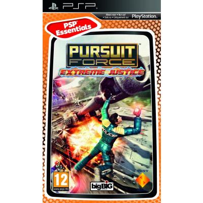 Foto van Pursuit Force: Extreme Justice (Essentials) PSP