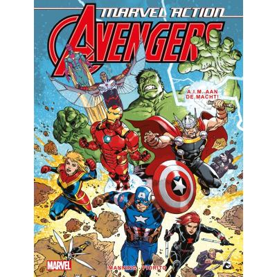 Foto van Marvel Action Avengers A.I.M. aan de Macht 4 (NL-editie) COMICS