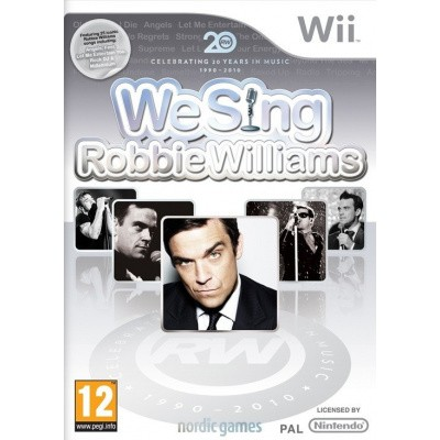 We Sing Robbie Williams (Game Only) WII