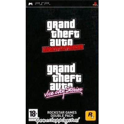 Foto van Double Pack Grand Theft Auto (Gta) Liberty City + Vice City Stories PSP