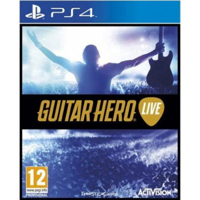 Guitar Hero Live (Game Only) PS4